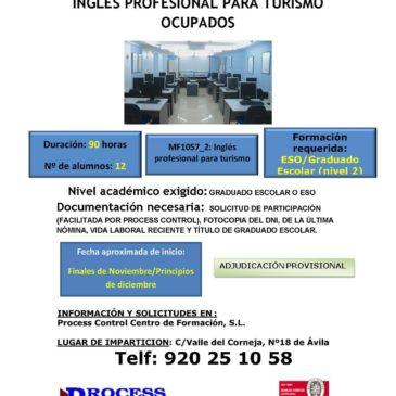 Inglés profesional para turismo para ocupados