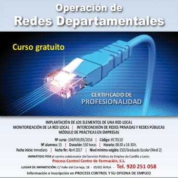 Certificado de profesionalidad de operación de redes departamentales