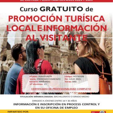 Promoción turística local e información al visitante (Certificado de profesionalidad)